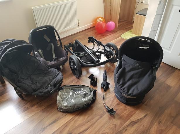 quinny 3 in 1 stroller