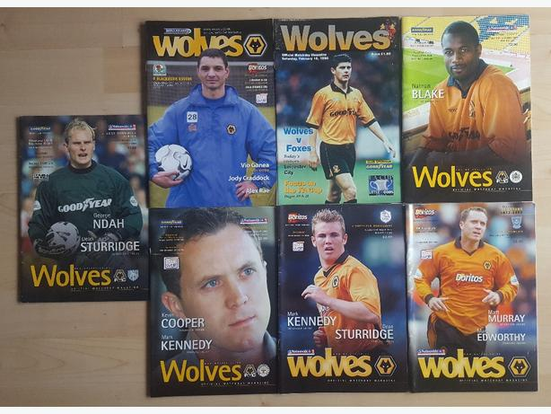 7 vintage wolves programs