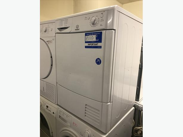 8 KG INDESIT CONDENSER DRYER WITH GENUINE GUARANTEE 🇬🇧🇬🇧🇬🇧