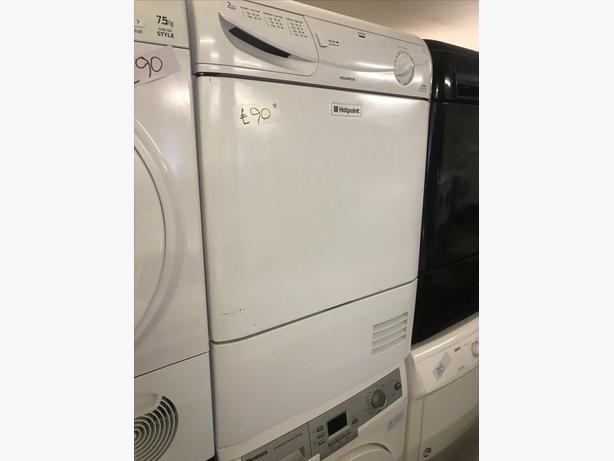 HOTPOINT 7 KG LOAD CONDENSER TUMBLE DRYER WITH GUARANTEE 🌎🌎🌎