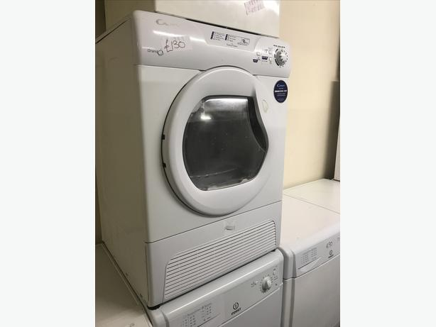AQUA VISION 8 KG TUMBLE DRYER - WATER COLLECTS IN THE DOOR TANK!