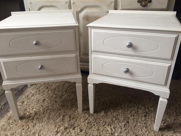 bedside tables x 2