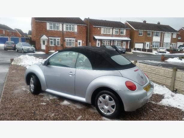 vw beetle convertable 1.6