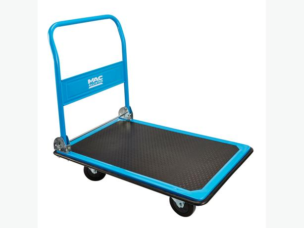MAC ALLISTER HEAVY DUTY PLATFORM TROLLEY, (MAX. WEIGHT) 300KG BRAND NEW