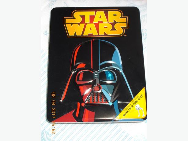 Star Wars Bundle Story Book and Activity Book Make Your Own AT-ST and Pencil Set