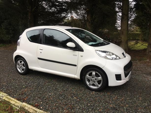 PEUGEOT 107 MILLESIM LTD 2010 WHITE
