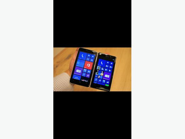 Windows smart phone Nokia touch mobile