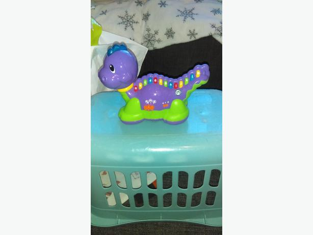 Leapfrog ABC childrens dinosaur toy