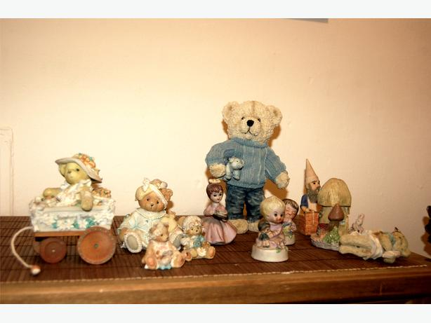 Matthews and another figurines collection.