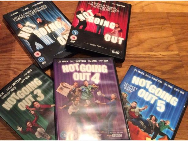 ORIGINAL NOT GOING OUT DVDS SERIES 1 - 5 - * JUST SOLD *