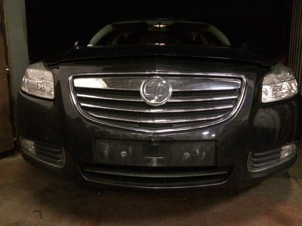 vauxhall insignia front end 2010 model