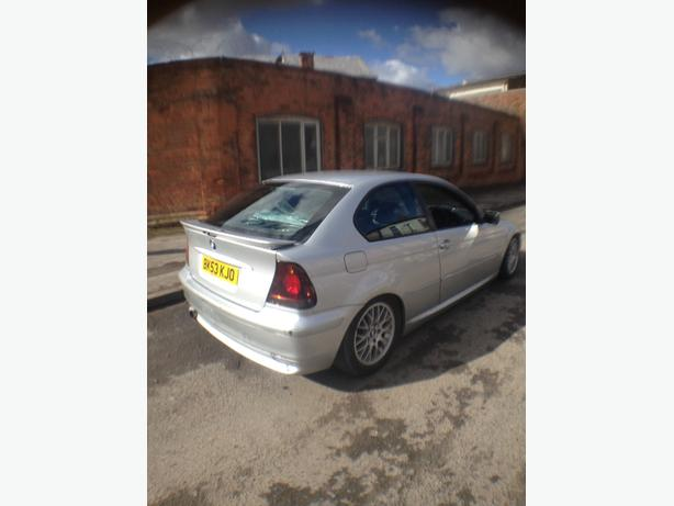 53 BMW COMPACT 328i CONVERSION DRIFT TRACK CAR MAY PX SWAP