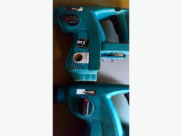 2 x makita 24v drills