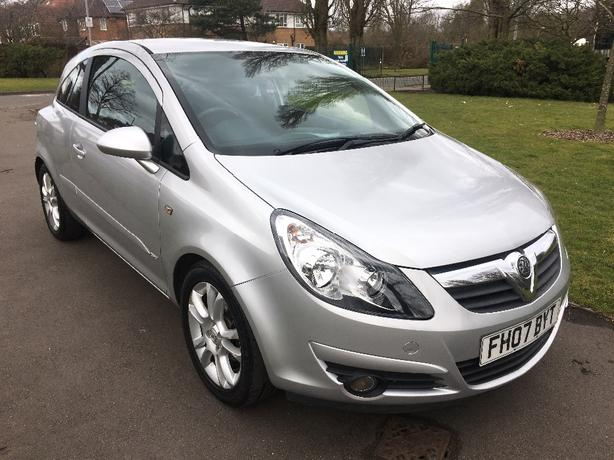 Vauxhall Corsa 1.2 SXI 2007 (80K, 1 LADY OWNER & MOT FEB 2019)