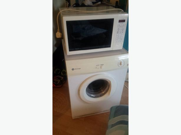 white knight dryer, perfect working order.