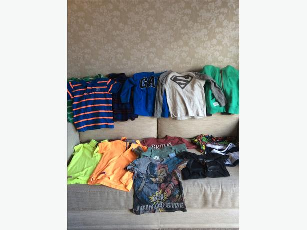Boys 4 years and 4-5 yrs clothing bundle.
