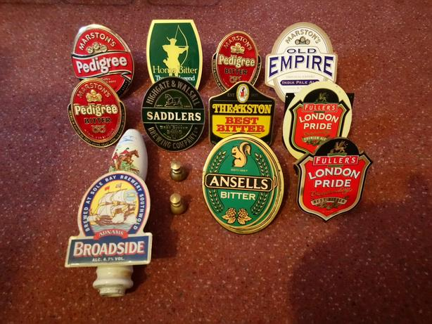 Beer pump badges