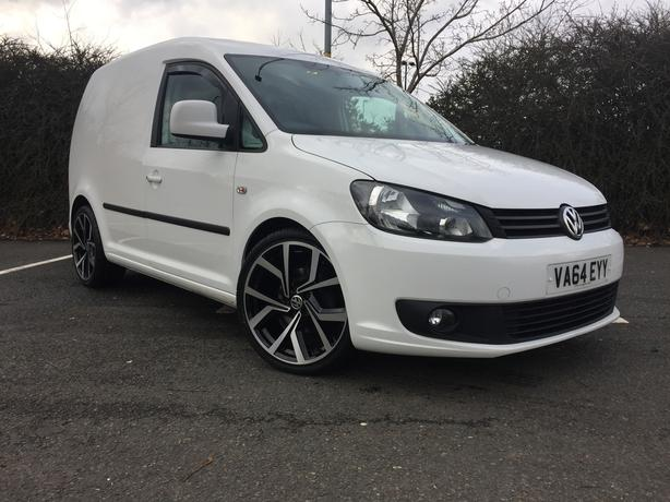 "Volkswagen Caddy 1.6 TDi Highline 2015 Lowered 19"" Alloys"