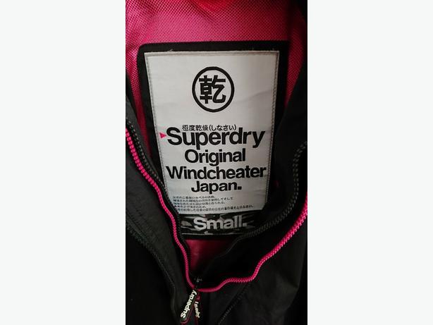 Superdry windcheater.