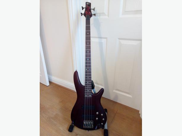 Ibanez SR500 Active Bass Guitar Brown Mahogany