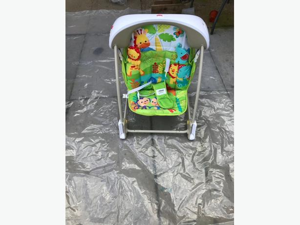 Musical swing , Hauck pram and High chair