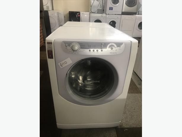 EXCELLENT CONDITION HOTPOINT AQUALTIS 7.5 KG WITH GENUINE GUARANTEE 🇬🇧🇬🇧🌎🌎