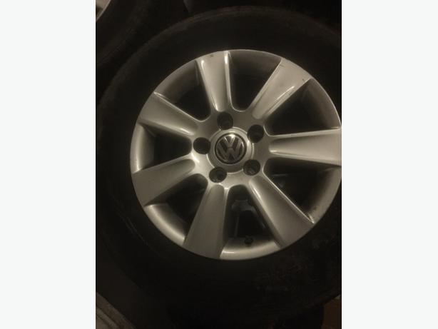 WV t5 highline wheels
