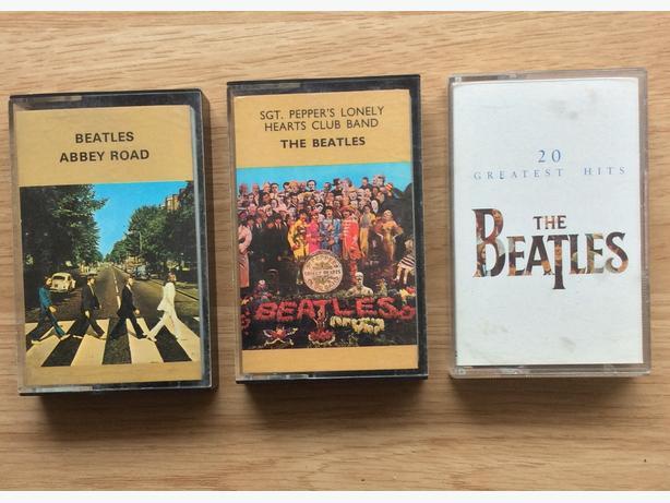3 Beatles Cassettes
