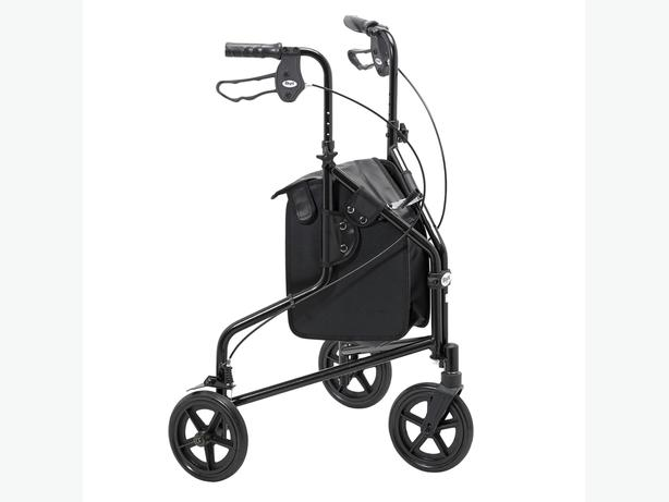 Days Aluminium Tri Wheel Walker mobility NEW