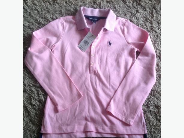 Girls Ralph Lauren polo long sleeved top