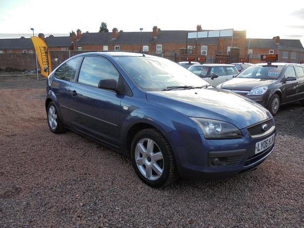 Ford Focus 1.6 Sport 3dr LONG MOT