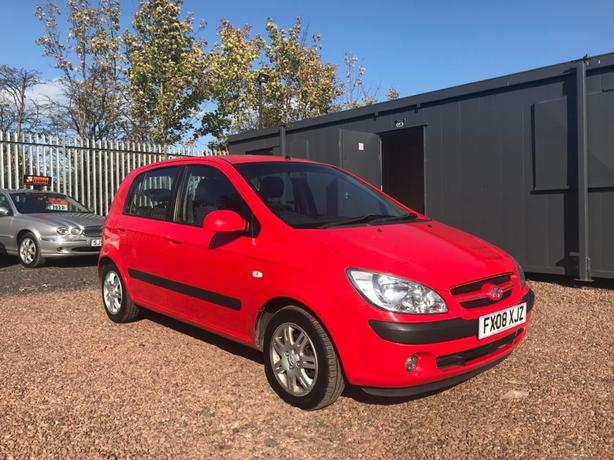 Hyundai Getz 1.1 CDX Hatchback 5dr Petrol Manual  1 OWNER FROM NEW, TIDY CAR