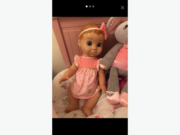 luvabella doll blonde (like new with box)