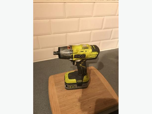 ryobi impact wrench for sale