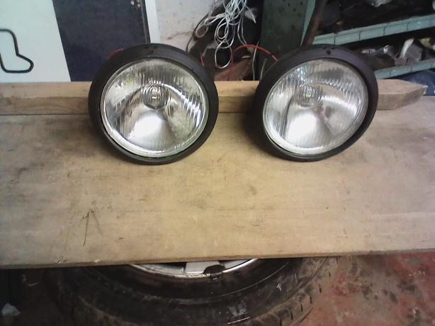 retro spot lights