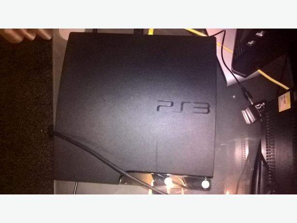 JAILBROKEN Ps3 Slim 250gb DEX Rebug