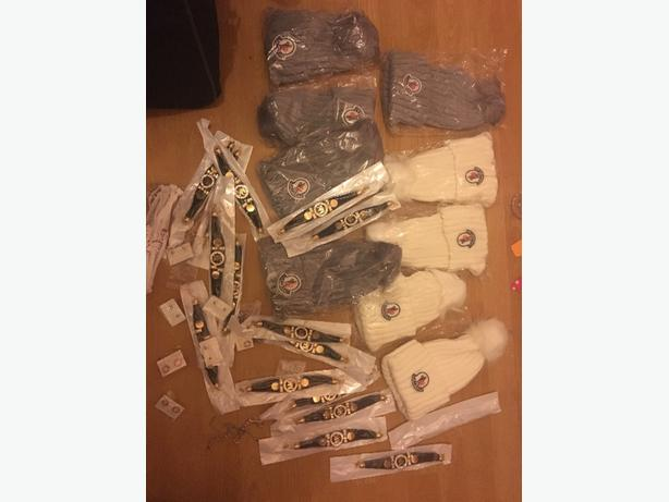 60 item hat bracelet earring joblot bundle