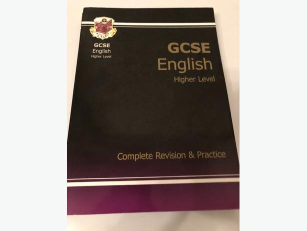 GCSE English Revision books