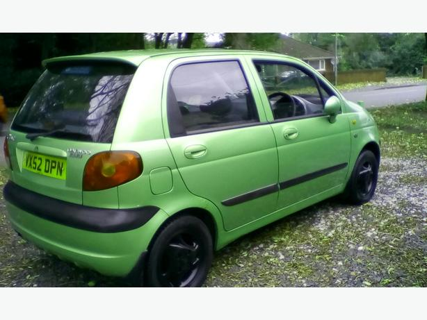 daewoo matiz 800cc petrol manual 5 door hatch tidy car