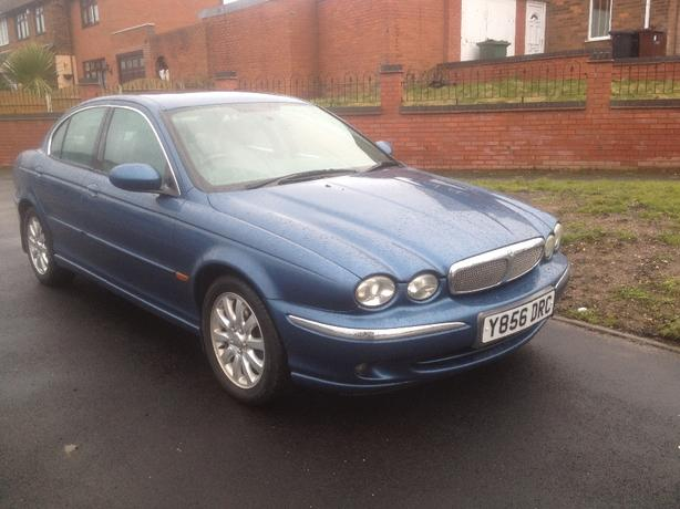 JAGUAR X-TYPE 2.5 AWD Yreg 2001