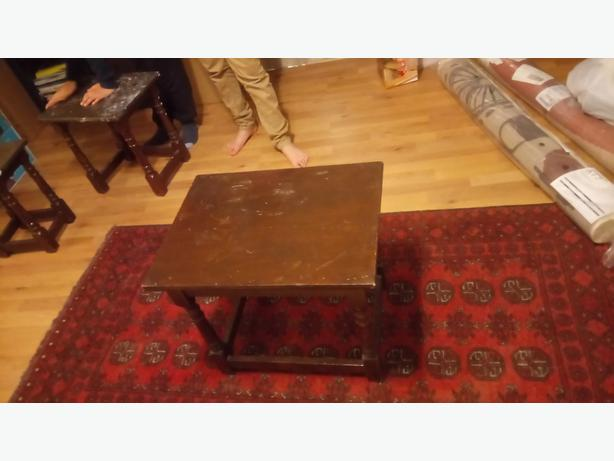 3 set of coffee table serving nest of table for up cycling