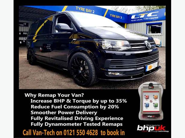 VW Transporter T6 ECU Engine Remapping available at Van-Tech