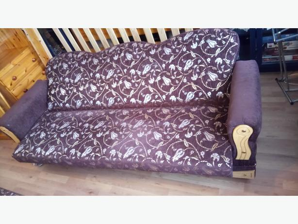2 Quality Sofa Bed Click & Clack settee sofa bed going cheap