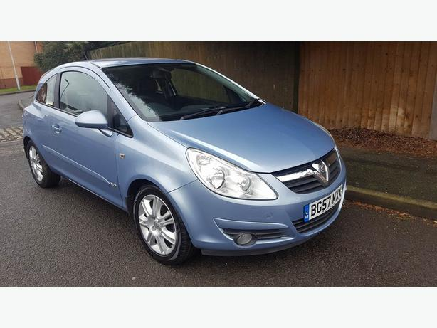 Corsa 2007 1.3 CDTI LOW MILEAGE 56K,LOW TAX,LOW INSURANCE MOT TILL 21 DEC 2018