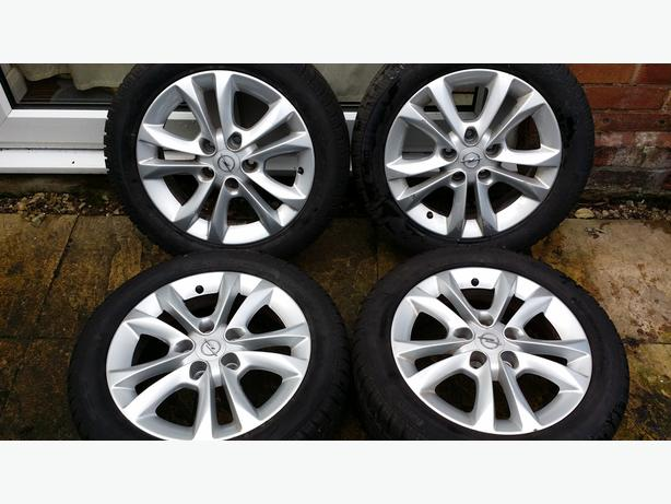 Vauxhall/Opel Alloy Wheels