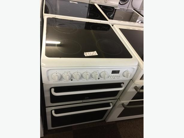 HOTPOINT 60CM W ELECTRIC COOKER GOOD CONDITION🌎🌎PLANET APPLIANCE🌎🌎