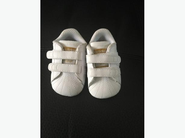 Adidas crib trainers