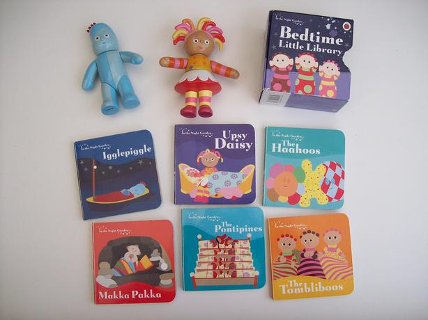 In the Night Garden toys and books