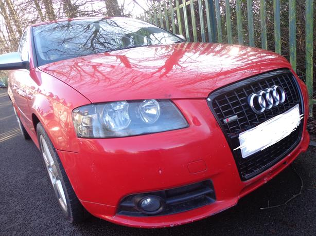 56 reg top spec audi a3 1.9 diesel 90k miles needs tlc DRIVES WELL DRIVEAWAY
