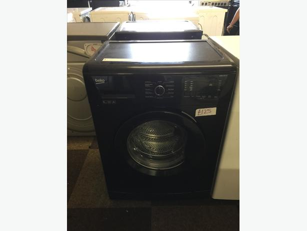 6KG BLACK BEKO WASHING MACHINE GOOD CONDITION🌎🌎PLANET APPLIANCE🌎